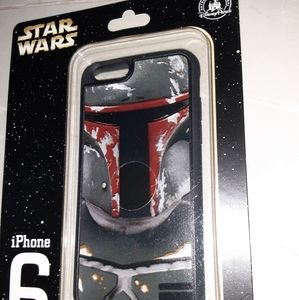 Disney parks Starwars D - tech boba fett iphone